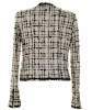 Chanel Black & White Fantasty Tweed Jacket 03C - Chanel