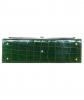 Vintage Emerald Green Crocodile Box Top Handle