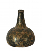 Dutch onion shaped bottle, about 1700.