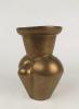Jan van der Vaart, Bronze glazed stoneware vase, multiple, 1994 - Jan van der Vaart
