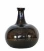 Dutch or German darkbrown bottle, about 1700.