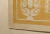 Chris Lebeau, origineel ontwerp voor batik met voorstelling van mythische kraanvogels, ca. 1906 - Chris (J.J.C.) Lebeau