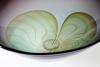 Willem Heesen, Unique glass bowl 'Gestand', Studio De Oude Horn, 1987 - Willem Heesen