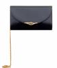 Cartier Navy Blue Leather Shoulder Bag - Cartier