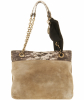 Lanvin Happy Lizard Print Leather Shoulder Bag - Lanvin