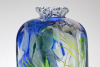 Willem Heesen, Unique tall vase with a cut neck, 1991 - Willem Heesen