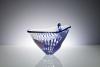 Willem Heesen, Unique transparent bowl with blue and pink decoration, 'épreuve d'artiste', March 1990 - Willem Heesen