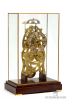 An English brass striking skeleton clock, Rippin Spalding, circa 1830