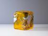 Willem Heesen, Unieke rechthoekige vaas 'Kimono', Oude Horn, 1990 - Willem Heesen
