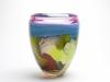 Misha Ignis, Colorful vase 'Lion', unique, 1999 - Misha Ignis