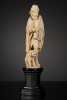 French Ivory Statuette of a Hurdy Gurdy Man