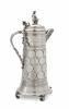 A large German silver 'thaler' Bismarck jug - Hessenberg & Co | Frankfurt