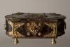 Tortoiseshell box with brass mounts