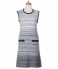 Chanel Sleeveless Knit Sweater Dress 12P - Chanel