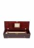 A fine Swiss rosewood Nicole Freres cylinder music box, circa 1855.