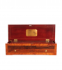 A Swiss LeCoultre rosewood 8-air cylinder music box, circa 1860