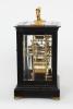 An English giant carriage clock by Edward John Dent, circa 1844.