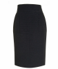 Chanel Black Pencil Skirt 07P - Chanel