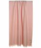 Hermès Pink Cashmere Blend H Fringe Scarf - Hermès