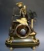 A very fine quality Directoire mantel clock 'l'Amérique' signed J.S. Deverberie, Paris circa 1790.