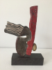 Pierre Lumey, Bronze sculpture lackered in divers colours - Pierre Lumey