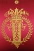 Een set van zes fijne Empire mahonie fauteils à la Reine.