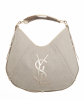 Yves Saint Laurent Canvas Mombasa Hobo - Yves Saint Laurent