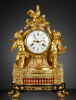 French Louis XVI Musical Mantel Clock
