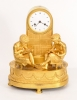 A French Empire ormolu mantle clock, circa 1820