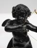 Een Franse bronzen sculptuur van Cupido, circa 1880