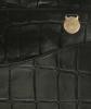 Mulberry Black Croc Print Briefcase - Mulberry