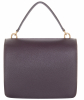 Mulberry Harlow Satchel Oxblood Small Classic Grain - Mulberry