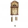 A rare German Black Forest musical organ wall clock with bird automaton, circa 1820