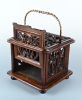 A Dutch 18th century rare oak footwarmer