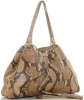 Gucci Python Peggy Drawstring Shoulder Bag - Gucci