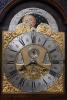A Dutch burr walnut longcase clock