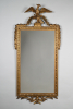 A French carved and gilded lindenwood Louis Seize mirror