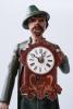 Uhrenmännchen so-called Schnappuhr, clock figure, Black forest circa 1840.
