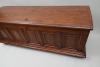 Dutch oak five-panel chest.