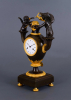 A French Empire ormolu and patinated bronze mantel clock - Claude Galle