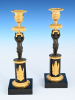French Empire Candle sticks