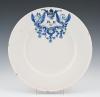 White Delft plate