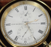 Een zeldzame Nederlandse mahonie chronometer A. Hohwü, circa 1865.