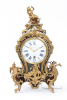 A small French Louis XV Boulle bracket clock, Melot A Paris, circa 1750.