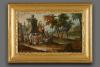 Oostenrijkse Louis XVI Schilderijklok met automaat