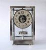 A fine Atmos clock, larger size, chrome,   no 6918, by Jean Leon Reutter, circa 1930