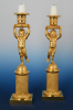 A pair of Empire Candle Sticks