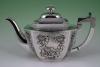 A Chinese silver tea set