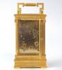 S o l d: An ingenious French petite sonnerie carriage clock, by Victorien Boseet, Paris 1870-1880.