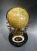 Uitzonderlijke Franse globe klok, Pendule Cosmographique Mouret , Parijs circa 1880.
